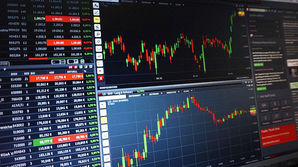 Aktien Börsenkurse