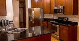 Mikrowelle in der Küche
